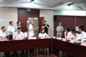 省残联党组书记、理事长肖红林教师节慰问我校教师