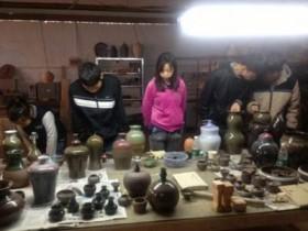 我校师生前往铜官窑参观学习