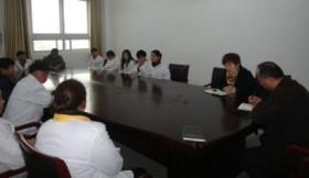学校召开新学期食堂工作会议
