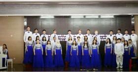 """我校合唱团获2018年长沙市""""文明风采""""成建制班合唱比赛二等奖"""