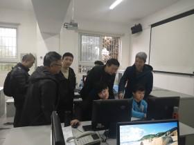 湖南科技职业学院领导老师来校交流指导工作