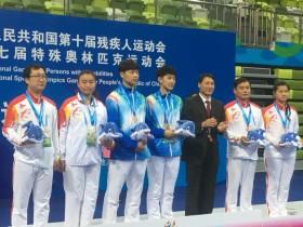我校运动员在全国残运会上取得佳绩
