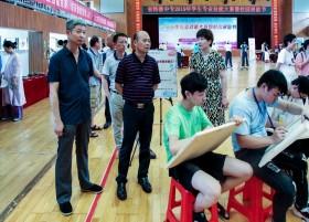 我校举行 2019年学生专业技能大赛暨校园展能节