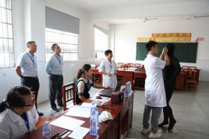 湖南辖区2019年全国盲人医疗按摩人员考试在我校顺利举行